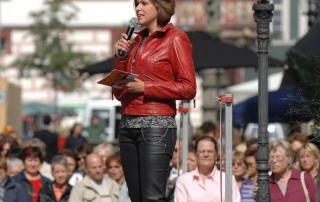 Modeschau Coburg (Moderatorin: Jasmin Kluge)