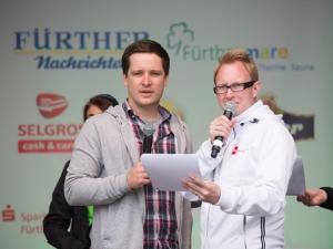 Metropolmarathon Fürth (Moderatoren: Alex Loos, Matthias Zeitler)