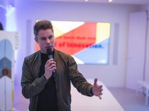 ISPO Night of Innovation (Moderator: Sebastian Messerschmidt) ©️COMMUNICO