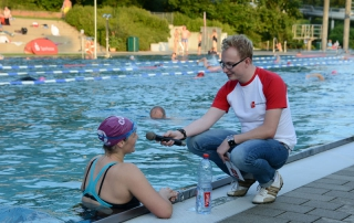 CHALLENGE Schwimmnacht Roth (Moderator: Matthias Zeitler)