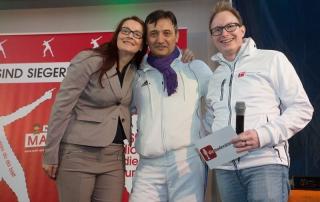 Marathon zum Welt-Down-Syndrom-Tag Fürth (Moderator: Matthias Zeitler)