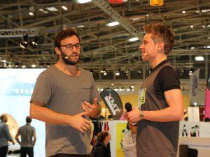 ISPO Munich (Moderator: Sebastian Messerschmidt) ©️COMMUNICO